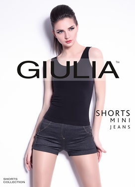 Picture of Shorts Mini Jeans model 1
