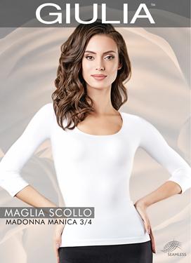 Maglia Scollo Madonna Manica 3/4